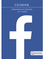Facebook performance report