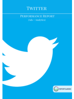 Twitter performance report