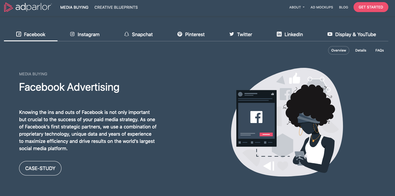 AdStage alternatives: AdParlor Experts in Driving People Based Marketing