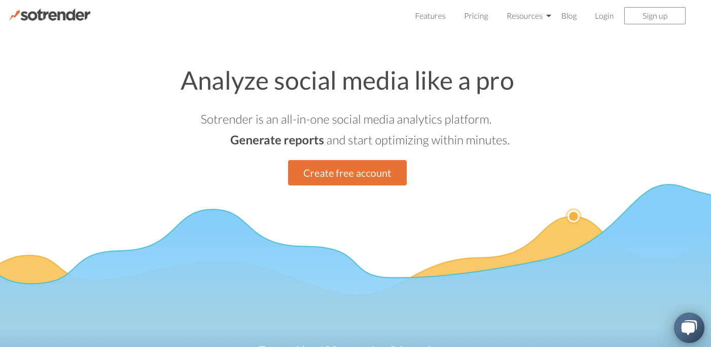 Sotrender: No bullshit analytics to analyze and optimize your marketing over social media