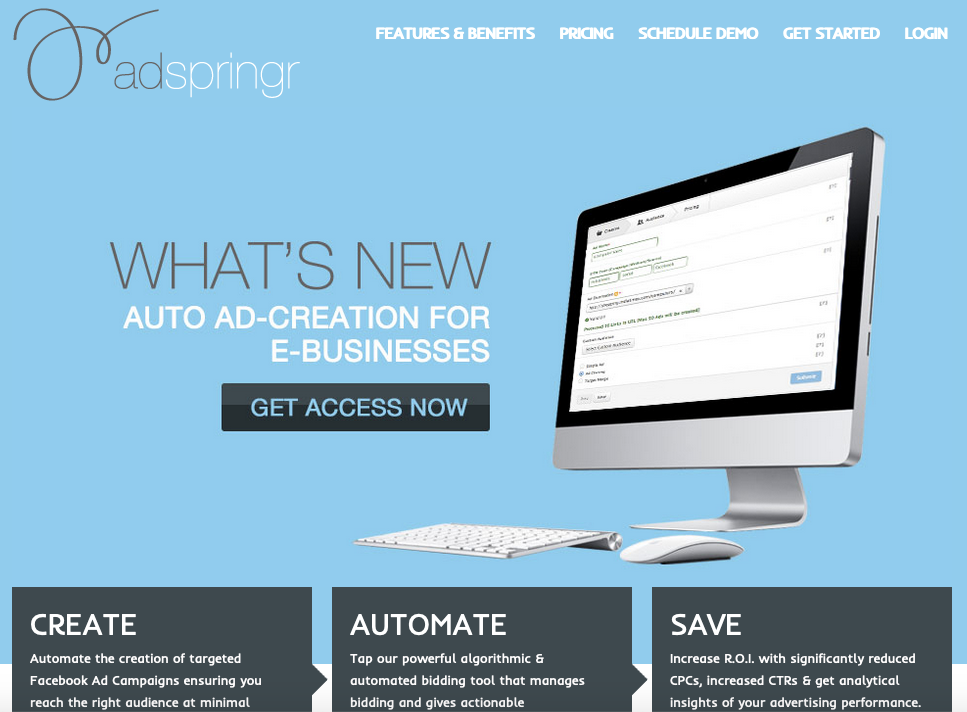 AdStage Alternatives: adSpringr Facebook Ads Manager and Optimization Tool