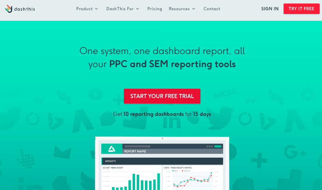 Report Automation Tools: DashThis